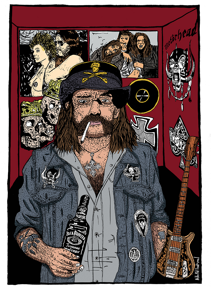 foolmoon lemmy dessin